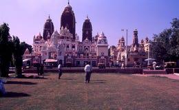 Laxminarayan寺庙/Birla Mandir,德里印度 免版税库存照片