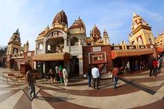 Laxminarayan-Tempel in Delhi Lizenzfreie Stockfotografie
