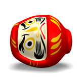 Lay Daruma Doll Royalty Free Stock Images