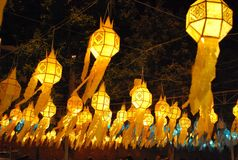 Lay Krathong Festival Royalty Free Stock Photos