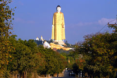 Lay Kyun Sakkya Standing Buddha statue Royalty Free Stock Photography