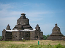 The Lay Myet Hna Pagoda in Mrauk U Stock Photos