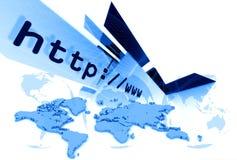 Lay-out 003 van HTTP Stock Afbeeldingen