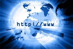 Lay-out 005 van HTTP Royalty-vrije Stock Afbeeldingen