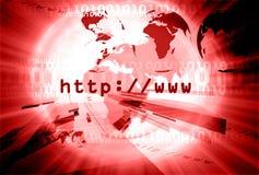 Lay-out 006 van HTTP Stock Afbeeldingen