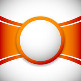 Lay-outmalplaatje met lege orb, cirkel op centrum meer kleuren vector illustratie
