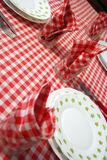 Lay the table Royalty Free Stock Image