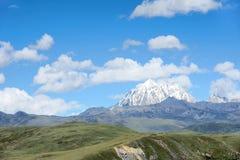 Laya Snow Mountain Stock Images