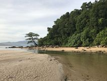 Layan beach phuket Thailand Stock Photos