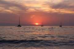 Layan beach , Phuket, Thailand 01 Royalty Free Stock Images