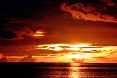 Layang-Layang Sunset Stock Image