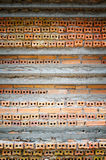 The layer of the brick walls construction Stock Photos