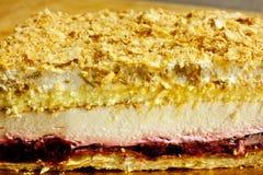 Layer cake stock image