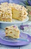 Layer cake Napoleon Stock Images
