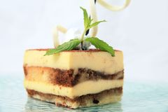 Layer cake pastry Stock Images