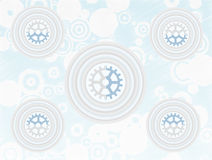 Layer Circle Gearscircle sketchy backdrop Vector Stock Images