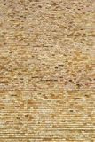 Layer of decorative bricks Stock Image