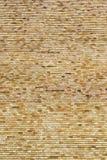 Layer of decorative bricks Stock Image