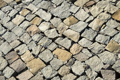 Layer of Dressed Stone Royalty Free Stock Images