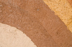 Layer of dry soil cracks natural texture and background Stock Photo