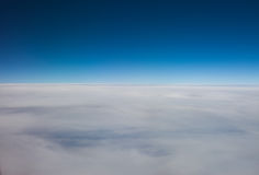 Layer of high altitude cirrostratus cloud Stock Photo