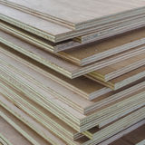 Layer of Industrial Plywood as background Stock Photography