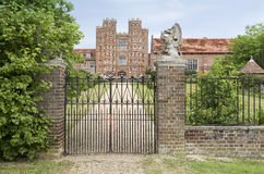 Layer Marney Tower with gate Royalty Free Stock Images