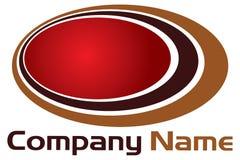 Layer round logo Stock Image