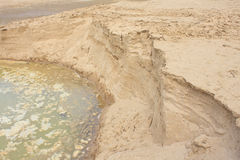 Layer of soil beneath Stock Photo