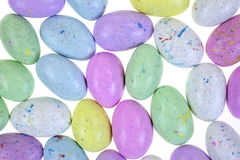 Layer Speckled Candy Eggs Royalty Free Stock Photography