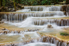 Layer of  waterfall, natural concept. Royalty Free Stock Photography