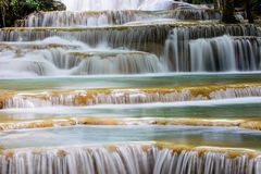 Layer of  waterfall, natural concept. Stock Photo
