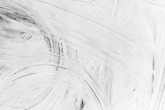 Layer of white paint on glass wall Stock Images