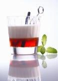 Layered alcoholic cocktail Stock Photo