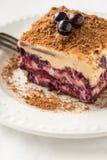 Layered blackberry honey pie Royalty Free Stock Photography