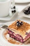 Layered blackberry honey pie Royalty Free Stock Photo