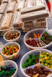Layered cake Stock Image