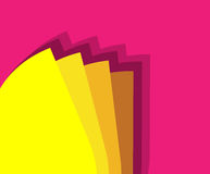 Layered Color Background Royalty Free Stock Images