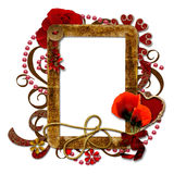 Layered decorated Vintage Frame Royalty Free Stock Photos