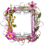 Layered decorated Vintage Frame Royalty Free Stock Photo