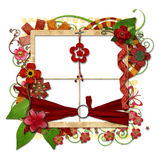 Layered decorated Vintage Frame Stock Photo