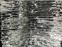 Layered glass with light. Background of Layered glass with light stock photos