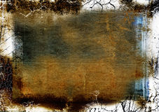 Layered grunge texture Stock Image