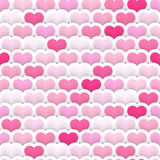 Layered Heart Seamless Background Royalty Free Stock Images