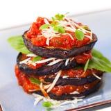 Layered Italian Eggplant Royalty Free Stock Photo