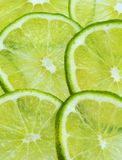 Layered Limes Stock Photo