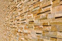Layered Multi Colored Stone Stock Image