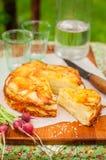 Layered Potato Bake Royalty Free Stock Photo