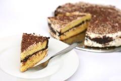 Layered pound cake Royalty Free Stock Photo