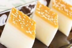 Layered Rice Cakes Royalty Free Stock Photos